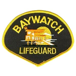 Amazon. Com: baywatch lifeguard baithing suit patch tv series 4.