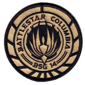 Battlestar Galactica - Battlestar Columbia BSG-14 (Gold Fabric) 3 5