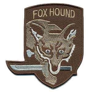 2 INCH OVAL FOXHOUND PATCH FXHND13