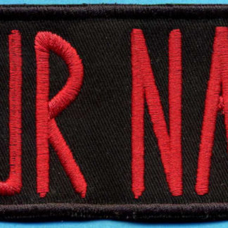 Ghostbusters Custom Name Tape Patch with Hook Velcro - 2 7/8