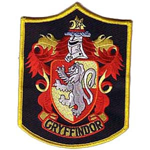 quidditch detailed gryffindor 6quot patch scifi geeks