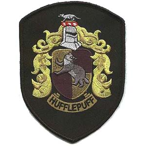 Hufflepuff Patches
