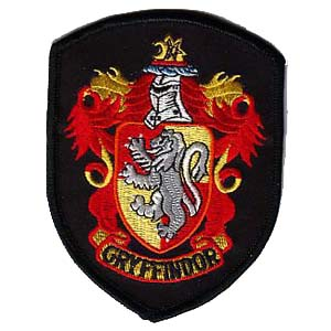 Gryffindor Patches