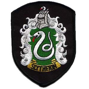 Slytherin Patches