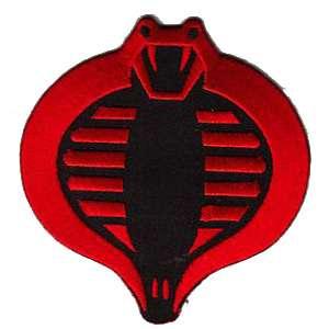g i joe cobra logo red on black jacket 10 patch scifi geeks g i joe cobra logo red on black jacket 10 patch