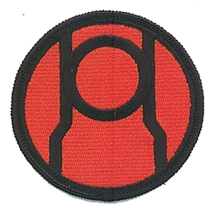 red lantern corps 3 patch scifi geeks