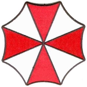 Resident Evil Umbrella Insignia Large Logo 5 Patch Scifi Geeks