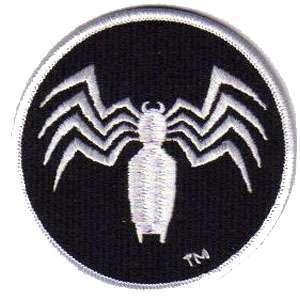 Spider Man Black White Spider Man Logo 3 5 Patch Scifi Geeks