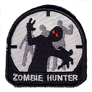 Zombie Hunter w/Hook Velcro